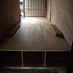Floors - Industrial, PVC, Raised, Wooden