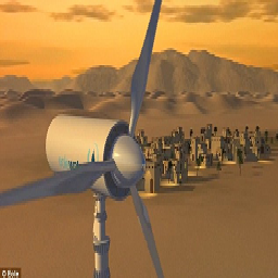 Air & Watercool Turbine