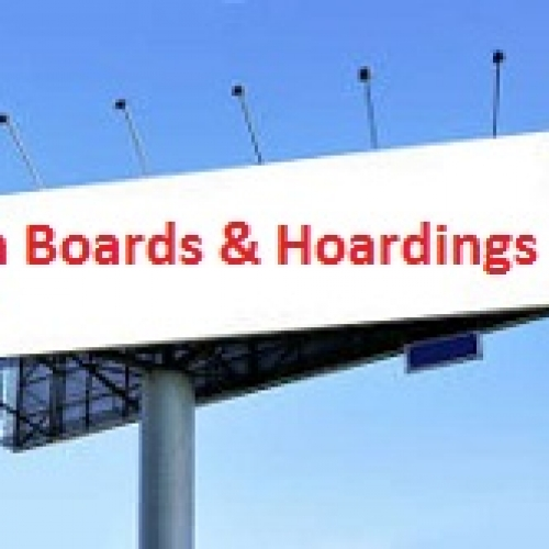 Signboards & Hoardings